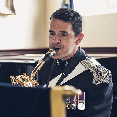 Career in Military Music - Corps of Army Music in UK. NCBF Festival. Photography by Adrian Snood