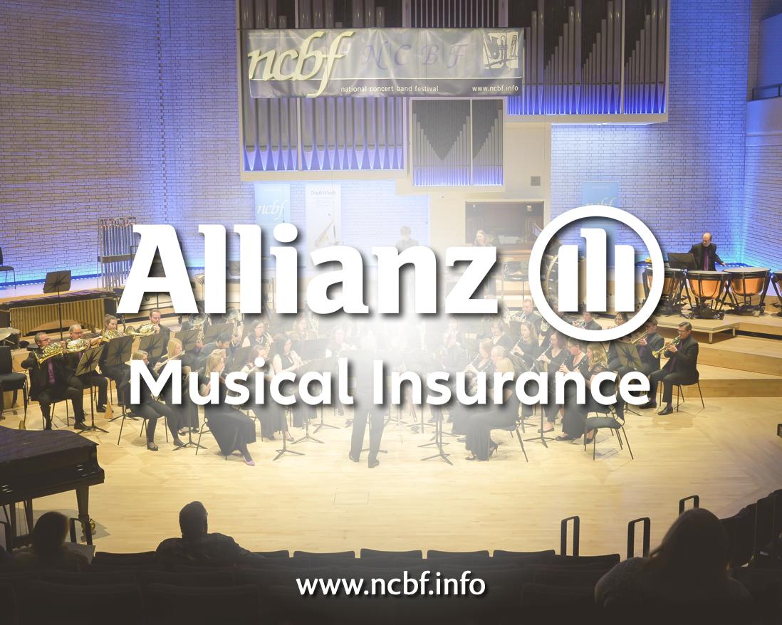 Allianz Music Insurance Sponsor ncbf National Concert Band Festival